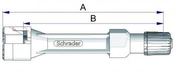 Воздухонепроницаемый удлинитель из жесткого пластика 42349-68